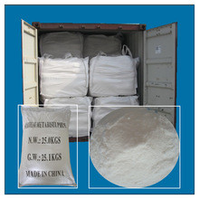 General Purpose Sodium Metabisulfite Food Grade , Reliable Sds Sodium Metabisulfite
